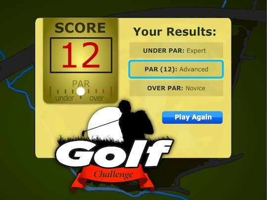 Sports Idioms Golf Game